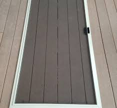 How To Re Screen A Window Or Sliding Glass Door Screen Snapguide