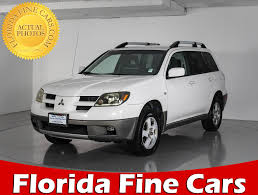 outlander mitsubishi 2003 used mitsubishi outlander suv for sale in miami hollywood west