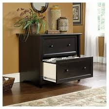 Lateral File Cabinets Edge Water Lateral File Cabinet Estate Black Sauder Target
