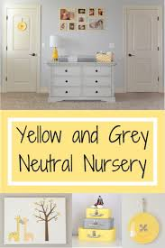 Yellow And Gray Nursery Decor Tour Of A Gender Neutral Yellow And Grey Nursery