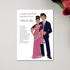 baby shower for couples unique indian baby shower invitations starry by soulful moon