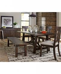 macys dining room sets mandara 7pc dining set table 4 side chairs