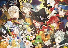starry sky fanart anime halloween time x3 starry sky