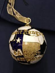 limited edition soccer state champion ornament u2013 jesuit dallas