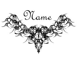 gothic tattoo design for lower back tramp stamp pinterest
