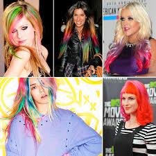 pictures of people who colored their hair with loreal feria b16 crazy colorful hair rainbow locks are all the rage more com