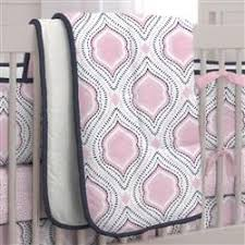 Pink And Brown Damask Crib Bedding Pink And Navy Moroccan Damask Crib Bedding Carousel Designs