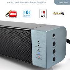 rca home theater sound bar pyle psbv250bt audio level bluetooth stereo soundbar digital