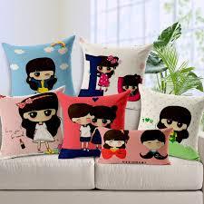 moustache and bowknot love custom cushion covers boys girls throw