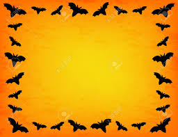 free halloween borders bat frame royalty free cliparts vectors and stock illustration