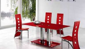 dining room red and black dining room sets beautiful luxury