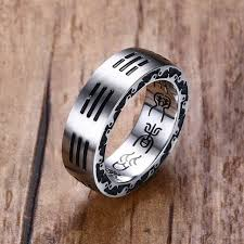 men rings style images Mens rings stainless steel chinese style taoist tai chi bagua jpg