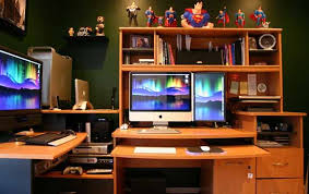 Office Desk Setup Ideas Best Computer Desk Setup Ideas Stunning Home Office Design Ideas