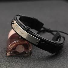 Customized Name Bracelets Aliexpress Com Buy Personalized Name Men Bracelet Engraved