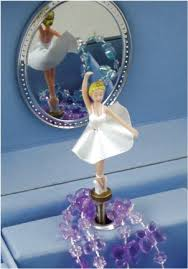 Childrens Music Boxes Odette Swan Lake Musical Jewellery Box Classic Ballet Musical