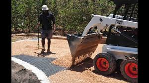 Gravel Patio Construction Pea Gravel Patio How To Keep Your Brick Patio Weed Free Youtube