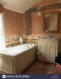 inspired bathroom tuscan inspired bathroom with terracotta color washed walls and