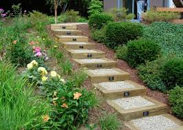 appealing landscape stairs design creative landscape design with