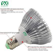 is full spectrum lighting safe ywxlight e27 12w full spectrum led plant l indoor growth for