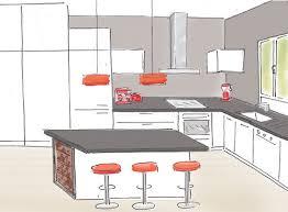 dessiner cuisine construire sa cuisine