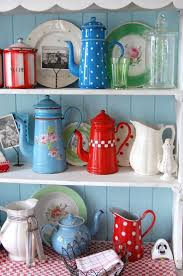 beautiful turquoise kitchen accessories on retro kitchen decor Kitchen Accessories And Decor Ideas