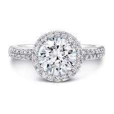 white gold halo engagement rings 18k white gold band bezel set accent diamo