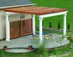 pergola plans for pergolas attached and plans for freestanding
