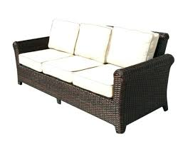 wicker couch sectional outdoor indoor sofa set cushion covers