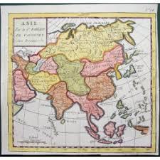 map asie asia korea japan asie antique map vaugondy 1750 map and maps