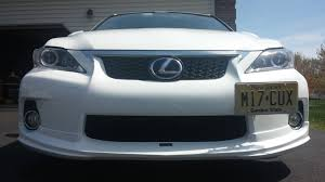 lexus body shop gominigo u0027no holes u0027 license plate bracket kit on my 2013 f sport