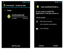 how to install apk on android compromised yahoo accounts spread android malware