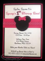 minnie mouse birthday invitations ideas u2013 bagvania free printable