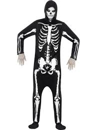 skeleton costumes skeleton onesie costume 25237 fancy dress