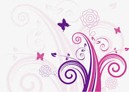 vector purple butterfly purple butterfly pattern vine png and