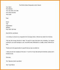 13 two weeks notice template cashier resume
