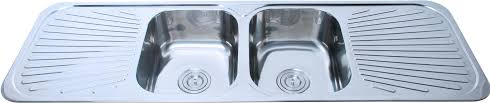 China Australia Double Bowl Stainless Steel Kitchen Sink With - Kitchen sink double bowl double drainer