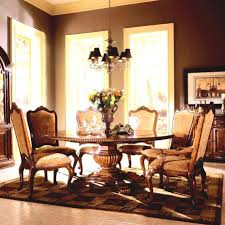 european dining room furniture classic dining table designs flat weave rug adds simple pattern