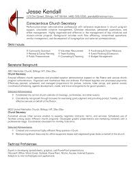 Event Planner Sample Resume Sample Secretary Resume Resume For Your Job Application