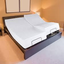electric adjustable single size platform bed frame bedroom