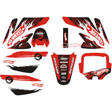 honda motocross gear aliexpress com buy free shipping 3m decal sticker graphic kit