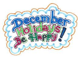 december holidays be happy