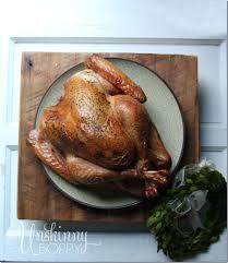 thanksgiving turkey on the big green egg unskinny boppy