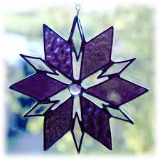 316 best stained glass snowflakes images on
