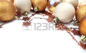 border with gold and brown ornaments isolated on white
