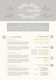 Resume Examples Cover Letter by Stylish And Feminine Resume Template Including A Cover Letter