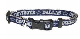dallas cowboy ribbon nfl dallas cowboys ribbon dog collars leashes collars leads