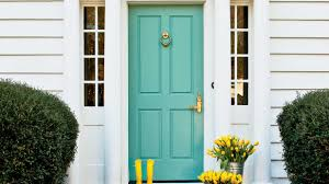 How To Paint An Exterior Door 5 Tips For Painting Your Front Door Southern Living