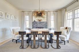 Oly Pipa Bowl Chandelier by Oly Studio Ariel Chandelier Transitional Dining Room Utah