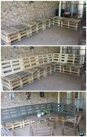 Diy Pallet Bench Instructions The 25 Best Pallet Furniture Instructions Ideas On Pinterest