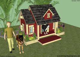 House Design Free Home Garden Plans Dh301 Insulated Dog House Plans Insulated